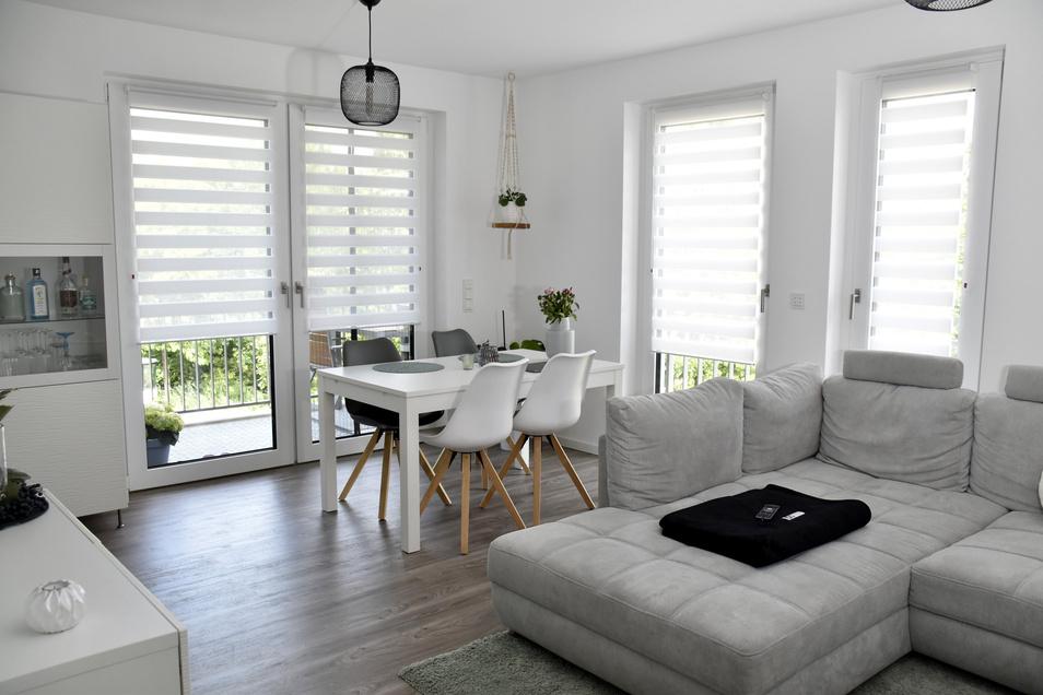 109 Quadratmeter für 1.200 Euro warm: In einem Dresdner Neubau ist eine Wohnung für dieses Geld nur schwer zu bekommen.