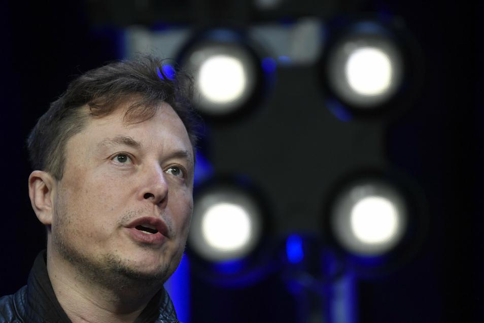 Elon Musk, Chef von Tesla, ist derzeit wieder in Deutschland.