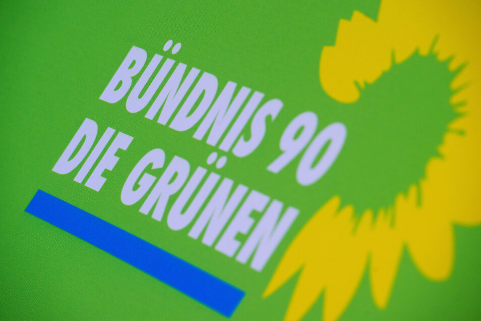 Gemeinsames Logo: Nach der Wende gaben sich das Bündnis 90/Die Grünen bundesweit ein Logo mit geänderten Farben.