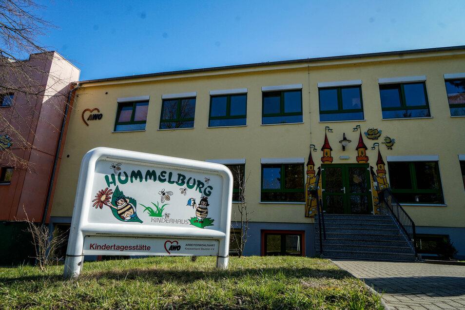 Um in Großpostwitz mehr Betreuungsplätze für Kinder zu schaffen, wird an die Kita Hummelsburg angebaut.