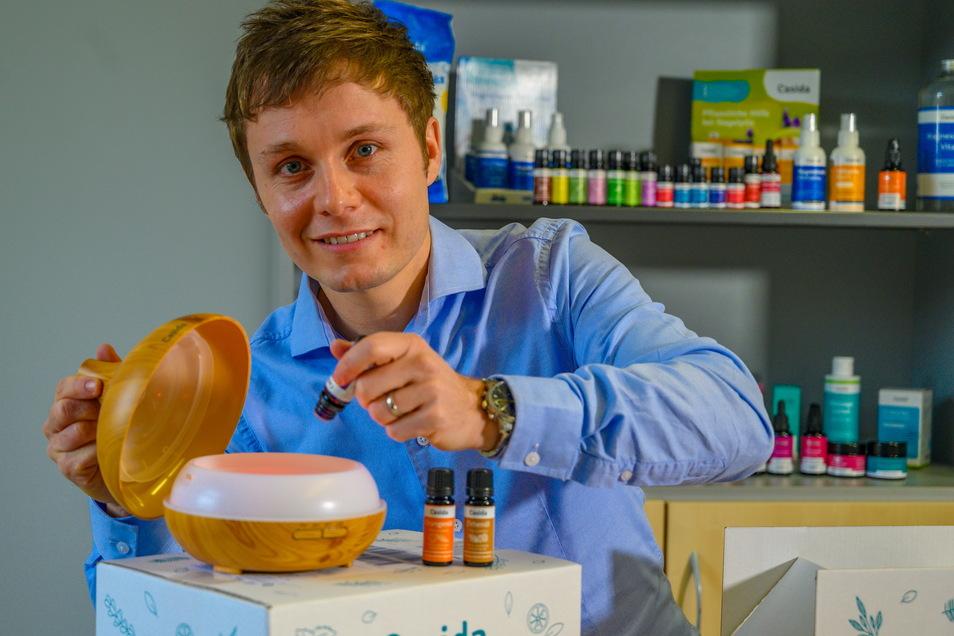 Alexander Helm, Geschäftsführer der Casida GmbH, wurde bester Gründer des Jahres.