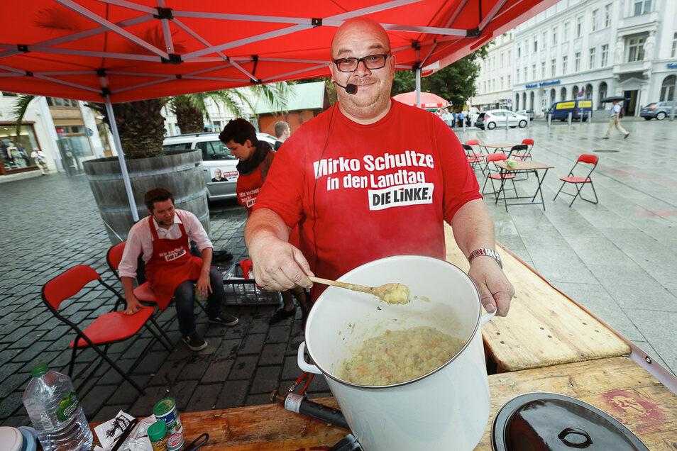 Mirko Schultze wird wahrscheinlich auch weiterhin Landtagsabgeordneter für die Linkspartei sein.