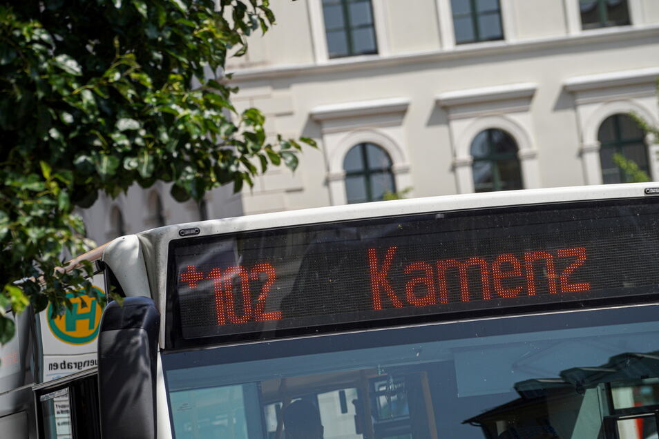 Die Buslinie zwischen Bautzen und Kamenz gehört zu den Verbindungen, die zwischen zwei Verkehrsverbünden pendeln. Hier kommen in den nächsten Wochen Marktforscher zum Einsatz.