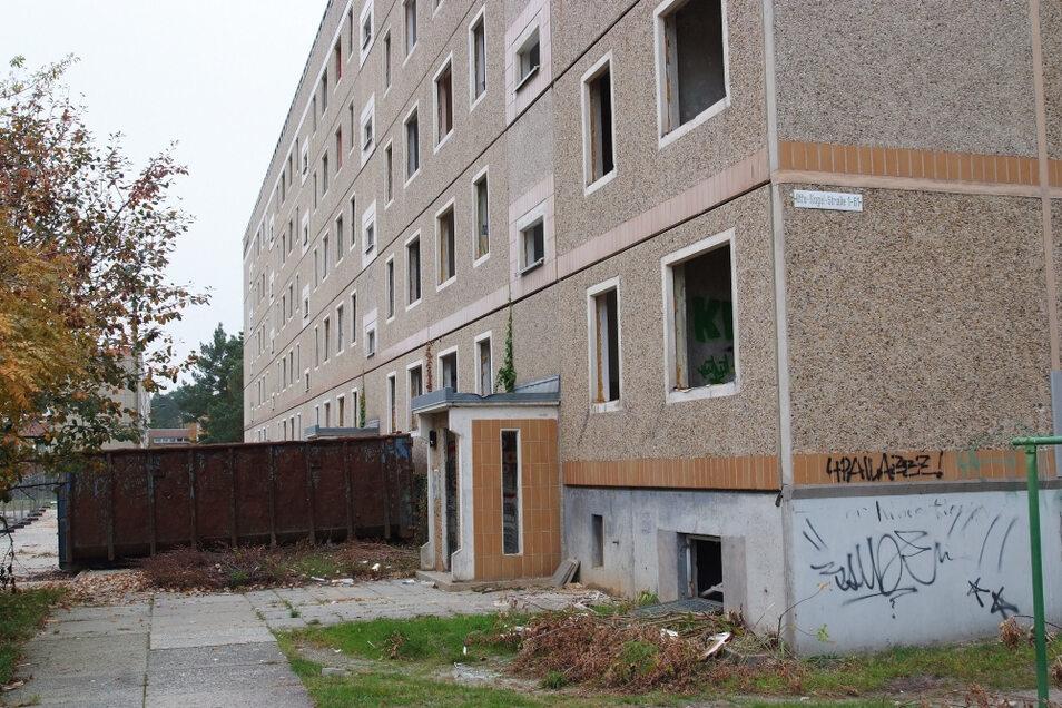 Abriss der Otto-Nagel-Straße im Oktober 2010.