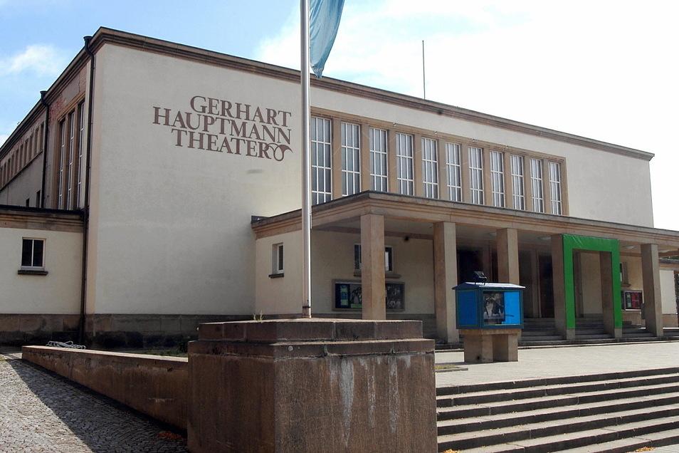 Die Zittauer Spielstätte des Gerhart-Hauptmann-Theaters.