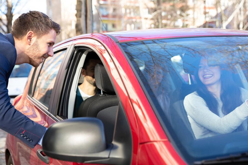 Je mehr Mitfahrer es gibt, desto mehr Haltepunkte bis zum eigenen Ziel sind notwendig. Ein Argument gegen das Ride-Sharing?