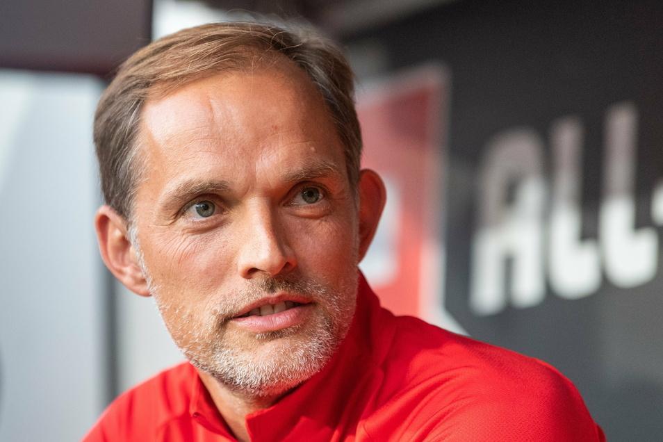 2019 war Thomas Tuchel in Dresden. Als Trainer von Paris Saint-Germain beim Testspiel gegen Dynamo Dresden.