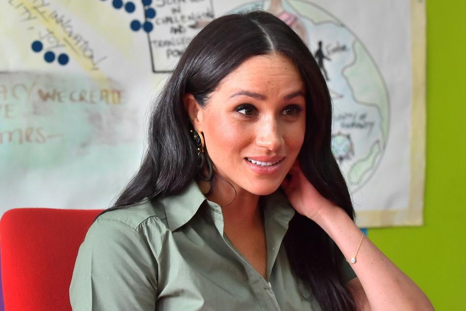 Meghan, Herzogin von Sussex, liegt mit der königlichen Familie in London im heftigen Clinch.
