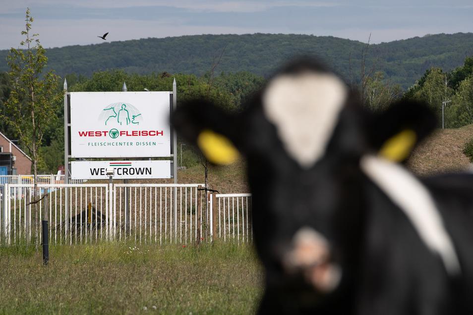 Der Betrieb von Westfleisch/Westcrown in Niedersachsen wurde geschlossen, nachdem zahlreiche Coronavirus-Infektionenen unter den Mitarbeitern bekannt wurden.