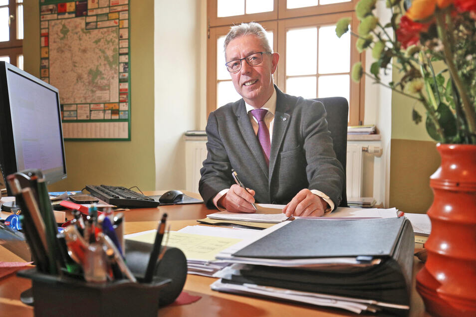Noch ist offen, wann ein Nachfolger oder eine Nachfolgerin von Bürgermeister Frank Seifert gewählt wird.