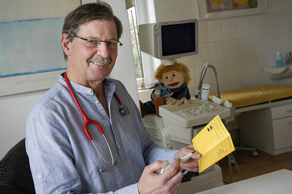 Dr. Martin Völker aus Singwitz ist Obmann der Kinderärzte in Bautzen. Insgesamt gibt es im Landkreis Bautzen genügend Kinderärzte, sagt er - nur in der Stadt Bautzen ist es etwas eng. Und: Die Lage könnte sich auch im gesamten Landkreis verschärfen.