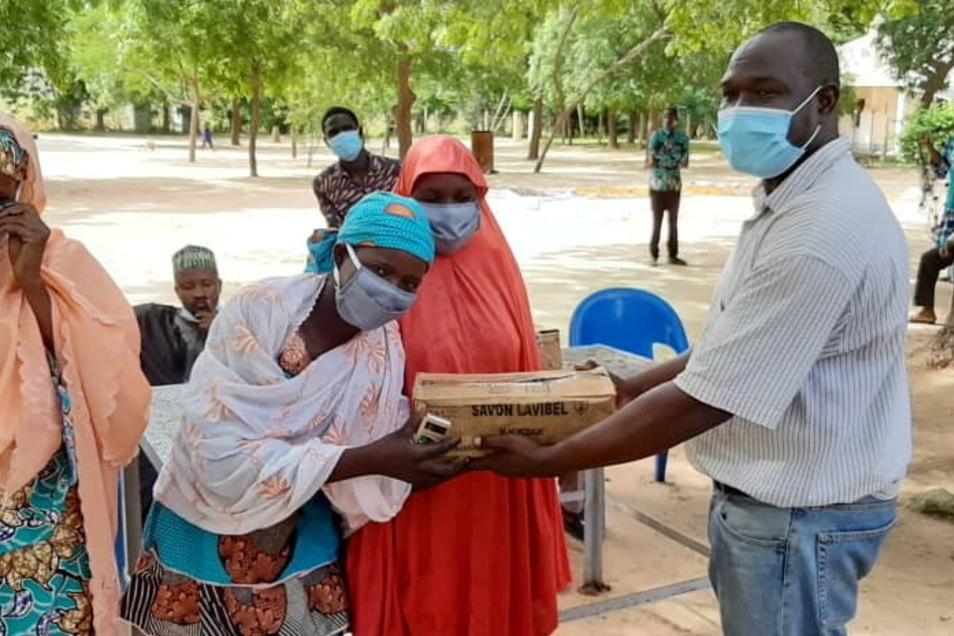 2021 hat der CVJM Schlesische Oberlausitz den YMCA Niger dabei unterstützt, über die Maßnahmen gegen die Corona-Pandemie aufzuklären.
