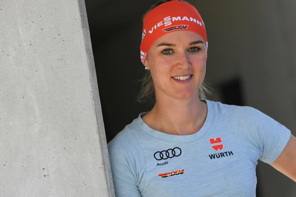 Vor zwei Jahren war die deutsche Biathlon-Elite das letzte Mal in Altenberg. Für die Oberwiesenthalerin Denise Herrmann ist es beinahe ein Heimspiel.