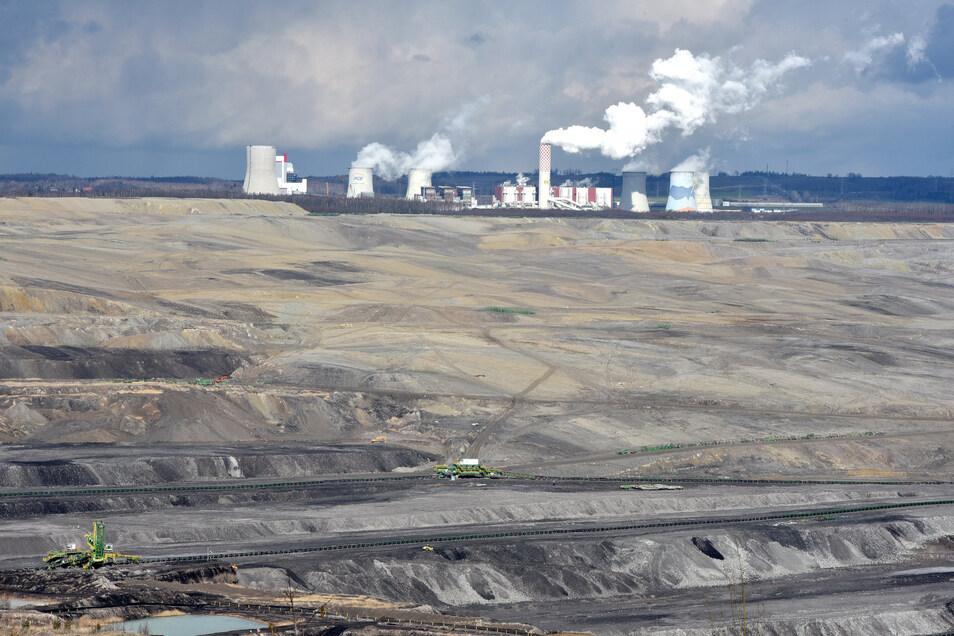Umstritten: Die Verlängerung für den Kohleabbau in Turow.