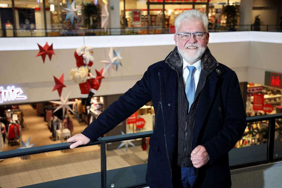 André Schittko, Centermanager der Riesaer Elbgalerie.