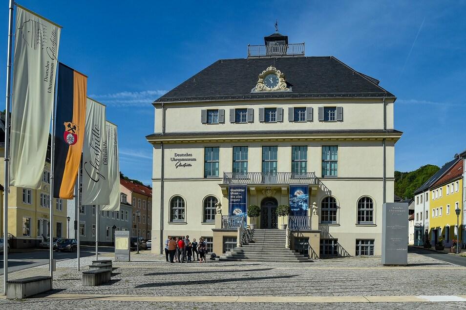 Das Uhrenmuseum prägt die Uhrenstadt Glashütte.