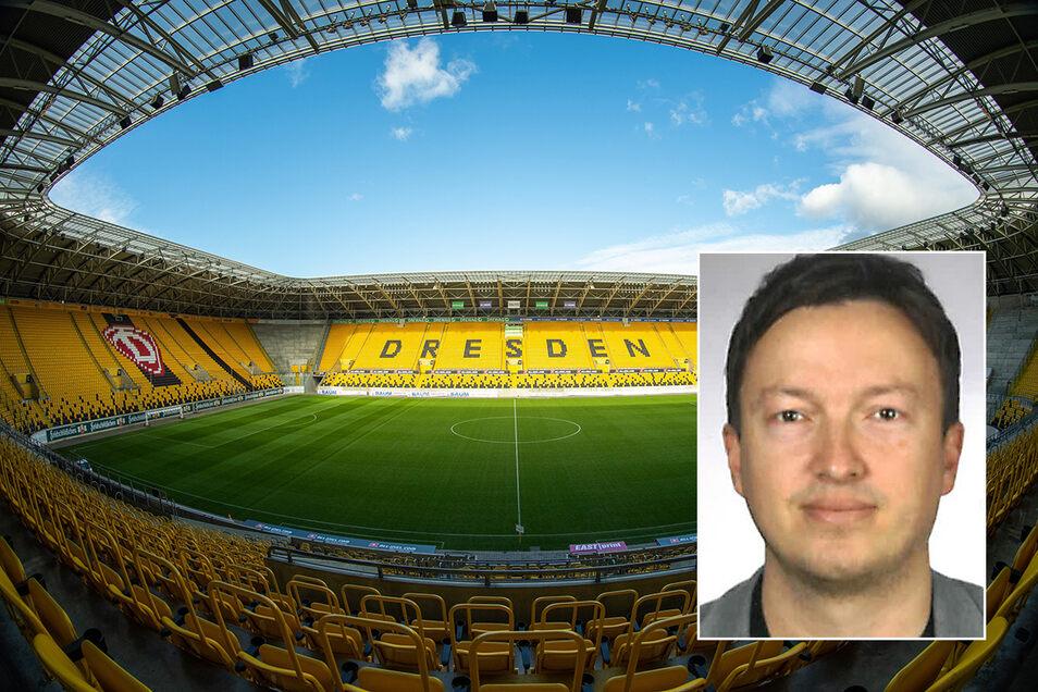 Keine Zuschauer, keine Einnahmen: Das Dresdner Stadion könnte durch die Ausfälle in eine ernste wirtschaftliche Lage geraten, sagt der Manager Ronald Tscherning.