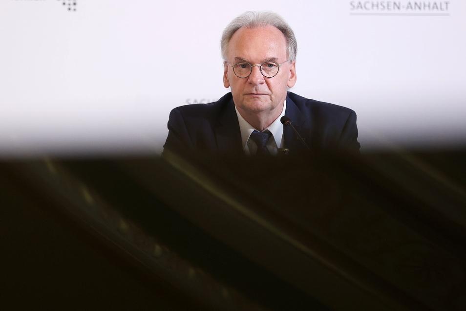 Sachsen-Anhalts Ministerpräsident Reiner Haseloff (CDU) regiert derzeit mit SPD und Grünen.
