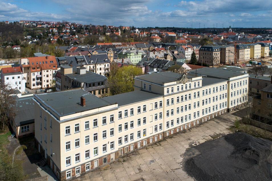 Für 123 Personen ist Platz in der Gemeinschaftsunterkunft an der Döbelner Friedrichstraße.