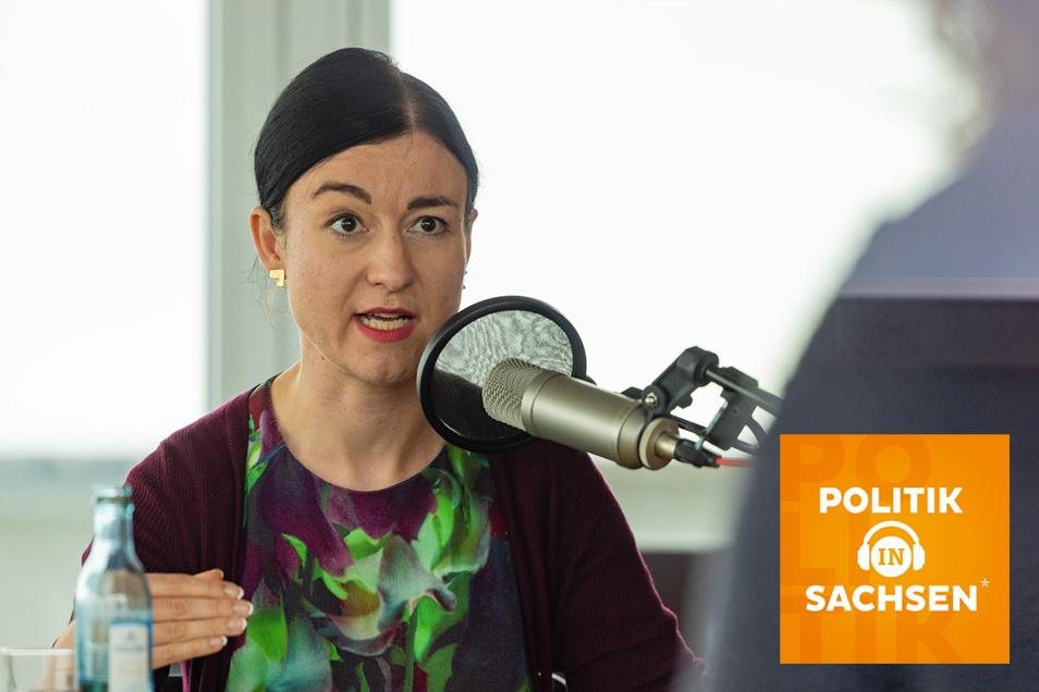 """Zu Gast im Podcast """"Politik in Sachsen"""": Paula Piechotta, Spitzenkandidatin der Grünen in Sachsen zur Bundestagswahl"""