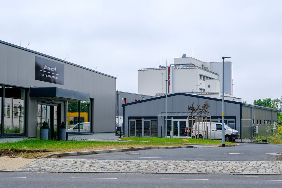 In Radebeul-Mitte haben bereits drei Unternehmen ihren neuen Standort bezogen. Ein weiteres folgt noch.