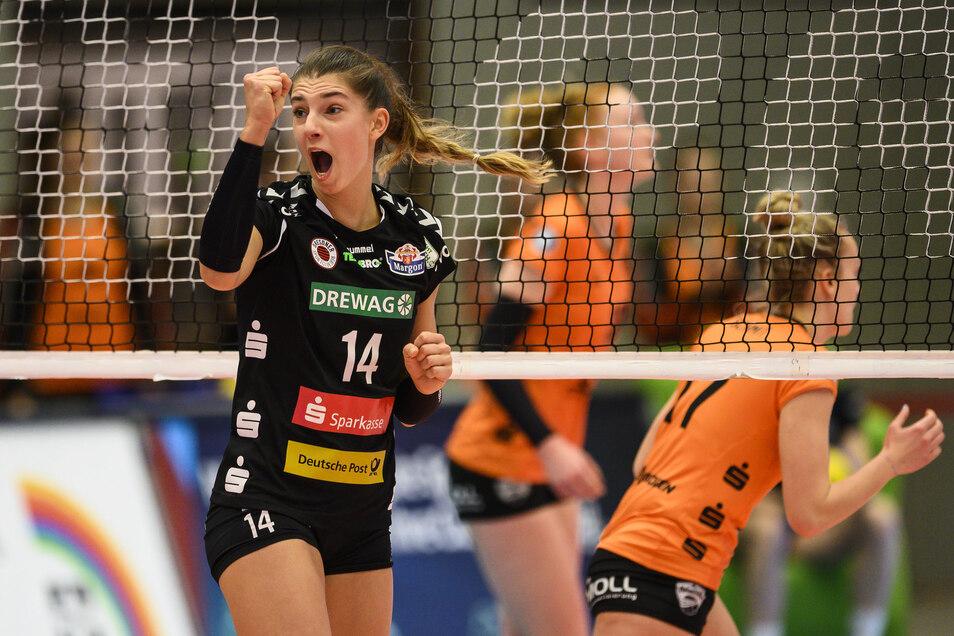 Nikola Radosova ist die punktbeste DSC-Spielerin.