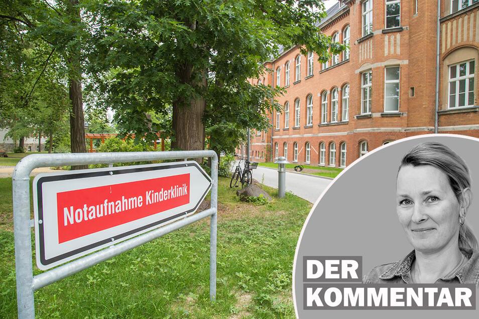 Kindernotaufnahme und kinderärztlicher Bereitschaftsdienst sind beide im neuen Frauen-Mutter-Kind-Zentrum des Görlitzer Klinikums zu finden. Einfach den oberen Parkplatz nehmen und dann den Schildern folgen.