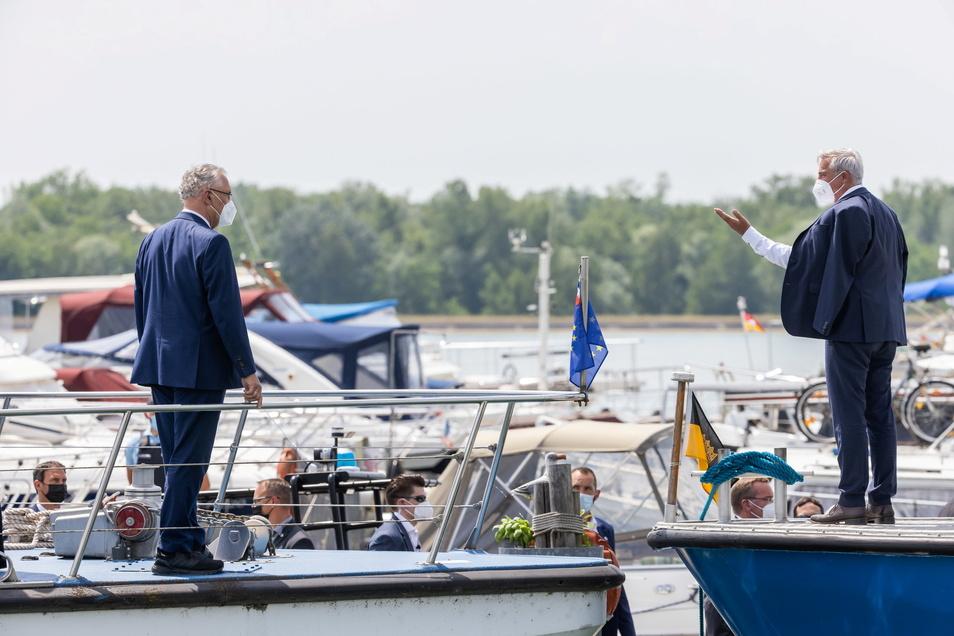 Die Frühjahrskonferenz der Innenminister und -senatoren der Bundesländer findet diese Woche im Europa-Park Rust statt.
