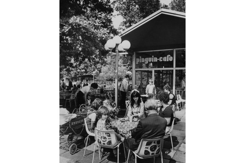 Zoo Eiscafé im Dresdner Zoo, seit 2017 weg.