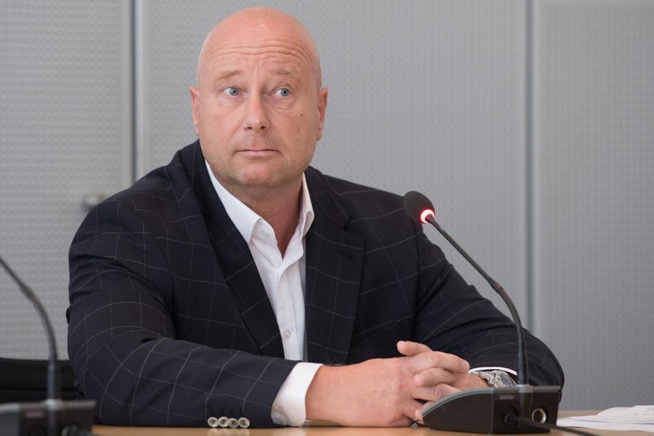 Sachsens AfD-Generalsekretär Jan Zwerg weint den ausgetretenen Landtagsabgeordneten offenbar keine Träne nach.