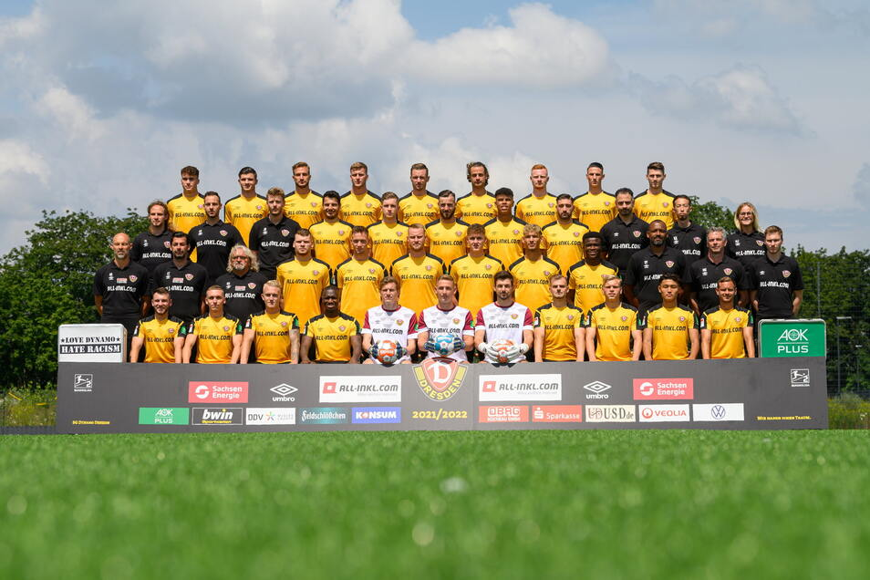 Das ist es, das offizielle Mannschaftsfoto der Saison.