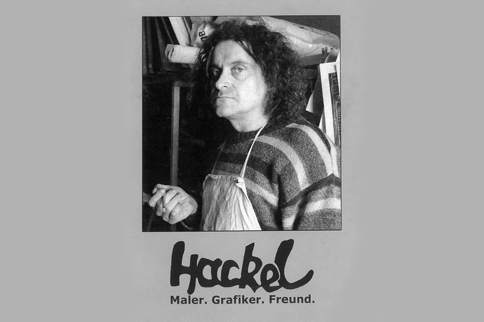 Über das Leben von Jens Hackel hat Falk Nützsche ein Buch herausgegeben.