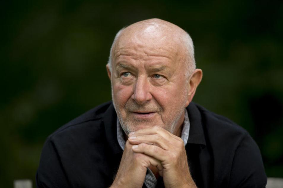 Hansi Kreische kommt zum Turnier der Eisernen.