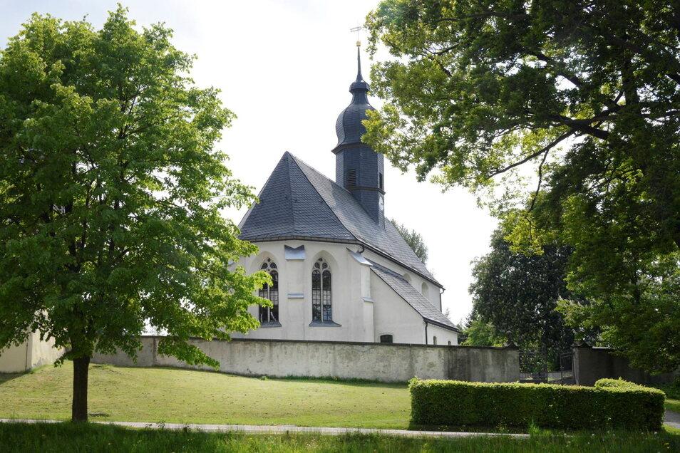 Die Kirche in Hartmannsdorf ist die höchstgelegene in der künftigen Kirchgemeinde Klingenberg-Kreischa.