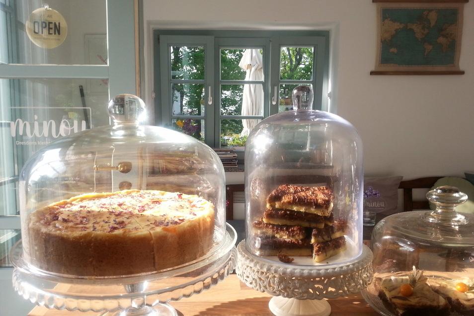 Wenn im Minou die Kuchen gebacken wurden, konnten die Gäste zuschauen.