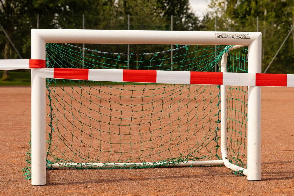 Bis auf wenige Ausnahmen sind die Sportplätze in Sachsen im November gesperrt. Der Amateur- und Freizeitsport soll komplett ruhen.