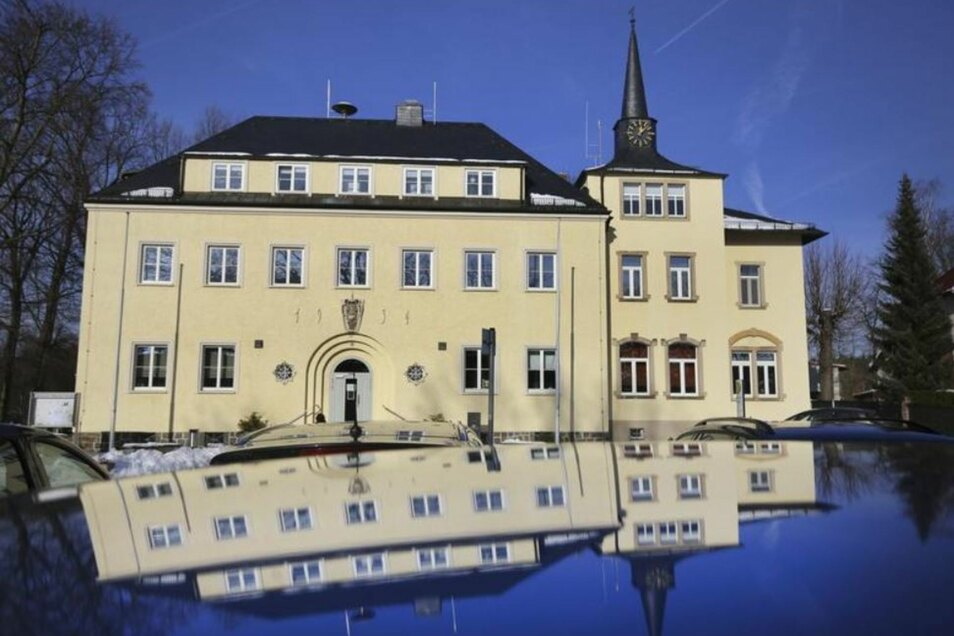 Im Rathaus von Ottendorf kam der neue Gemeinderat zu seiner ersten Sitzung zusammen.