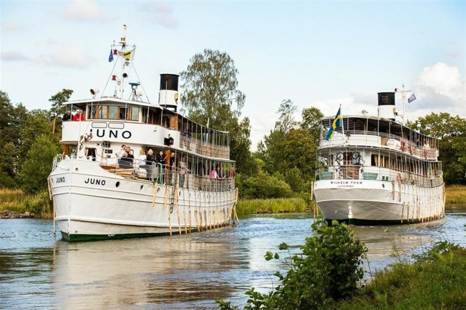 3-tägige Reise auf dem Göta Kanal im Wert von 2766.-€