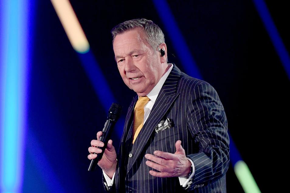Roland Kaiser wollte am 28. August auf der Kamenzer Hutbergbühne auftreten. Das Konzert war bereits ausverkauft - und wurde jetzt abgesagt.