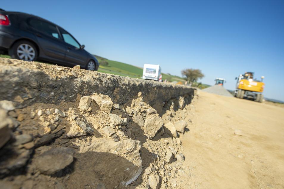 An der ehemaligen Rennstrecke zwischen Stürza und Heeselicht haben die Bauarbeiten begonnen.