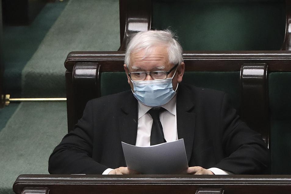 Jaroslaw Kaczynski, Vorsitzender der nationalkonservativen Regierungspartei PiS.