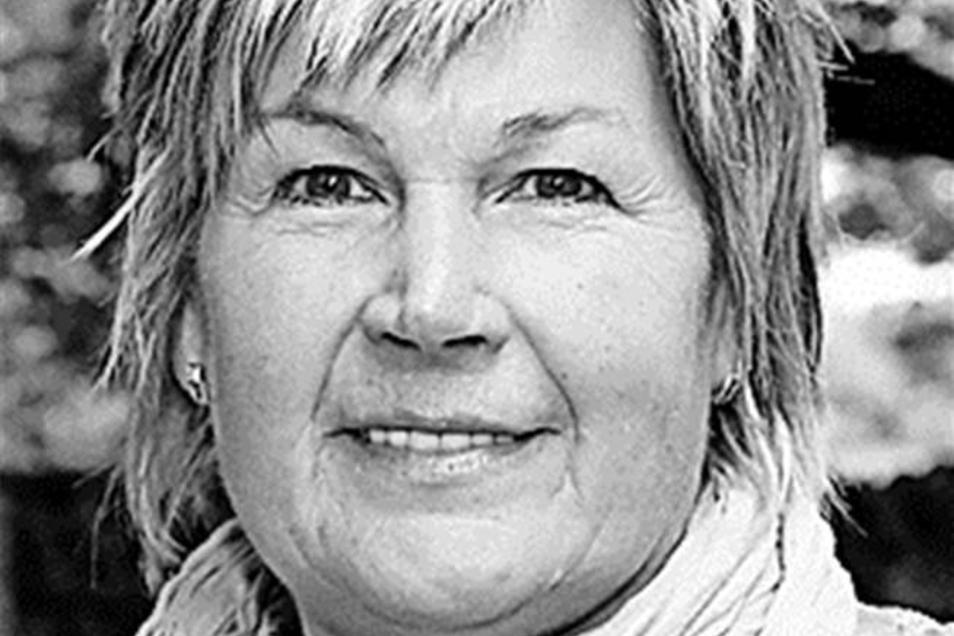 """Ilona Pfuhl ist Leiterin der Kita Gummistiefelchen in Uhsmannsdorf. Die beteiligt sich an der Kampagne """"Weil Kinder Zeit brauchen""""."""