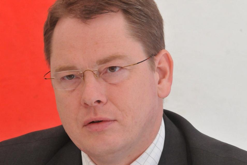 """""""Wir sind immer froh, wenn der Tag der Sachsen bei uns im Gebiet stattfindet"""" – VVO-Chef Burghard Ehlen."""