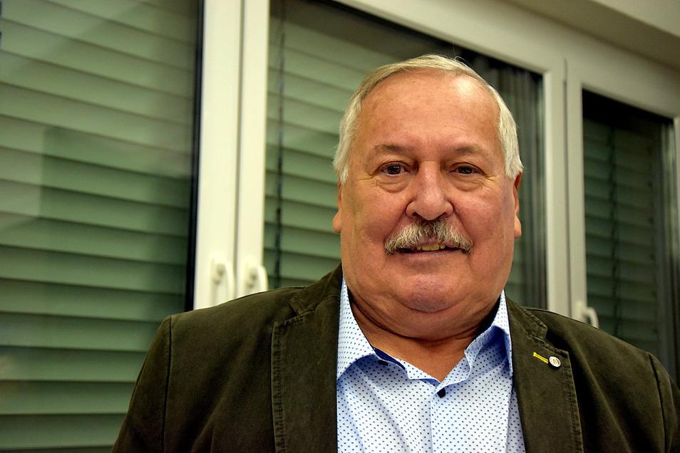 """Karl-Heinz Markgraf, Vorsitzender Traditions- und Förderverein """"Glückauf Schwarze Pumpe"""""""