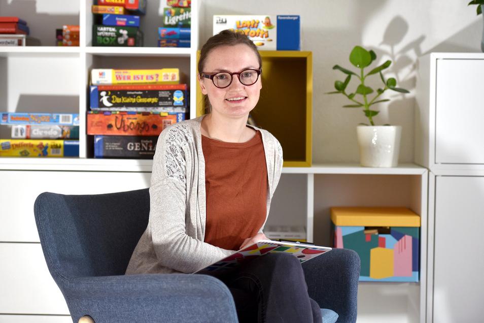 Anne Eckert hat behandelt in ihrer neuen Psychotherapie-Praxis  Kinder- und Jugendliche bis 21 Jahre. Sie hat sich für Löbau entschieden.