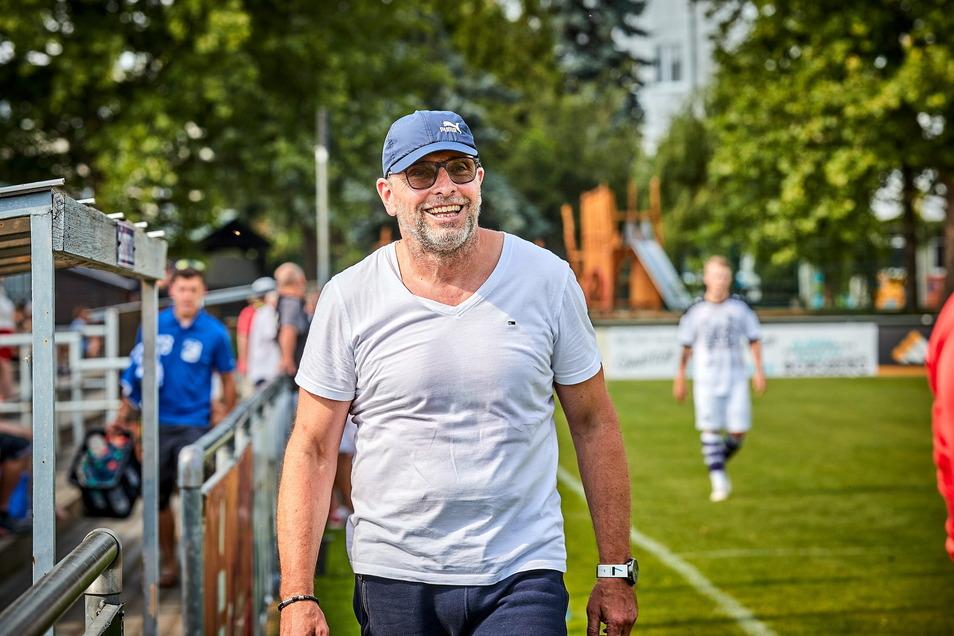 Uwe Kuhl: Der 56-Jährige feiert ein tolles Trainer-Comeback in Sebnitz, führte den BSV auf Rang eins der Landesklasse Ost.