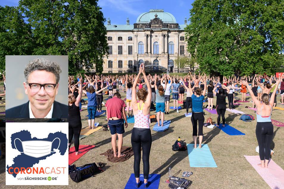 SZ-Feuilleton-Redakteur Oliver Reinhard im CoronaCast über den Restart für die Veranstaltungsbranche und Irritationen beim Palais Sommer in Dresden.