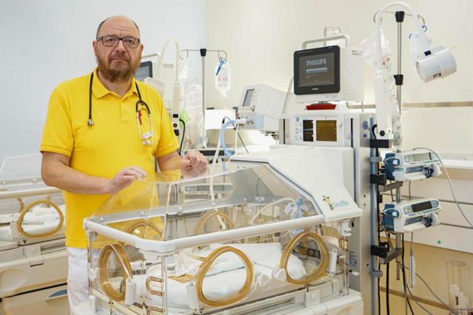 Auch der Chefarzt der Bautzener Klinik für Kinder- und Jugendmedizin Dr. med. Ulf Winkler hat dafür geworben, die Petition zu unterzeichnen.
