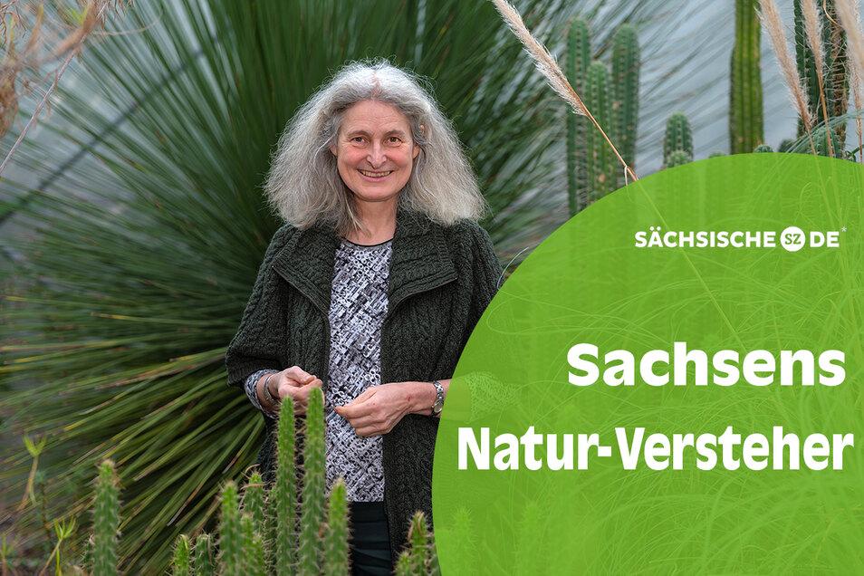 Es grünt so grün: Als wissenschaftliche Leiterin im Botanischen Garten hütet Barbara Ditsch mit 15 Gärtnern rund 10.000 Pflanzenarten.