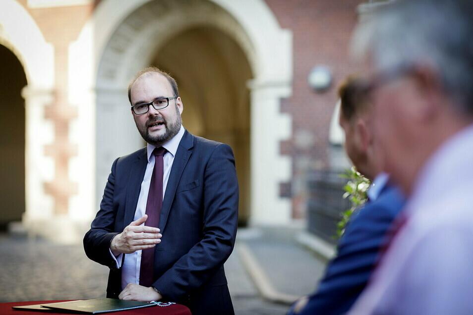 Im September war Christian Piwarz in Görlitz. Über die Fragen Görlitzer Schulleiter sprach er jetzt online.